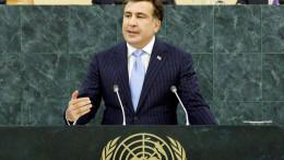 Михаил Саакашвили пред ООН