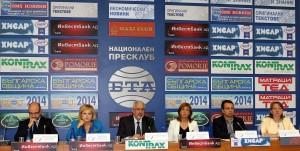 """Пресконференция на коалиция """"Десните"""", 06.08.2014 г., БТА"""